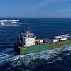 Searoad Tamar - 147 metres<br /> Triton Leader - 200 metres