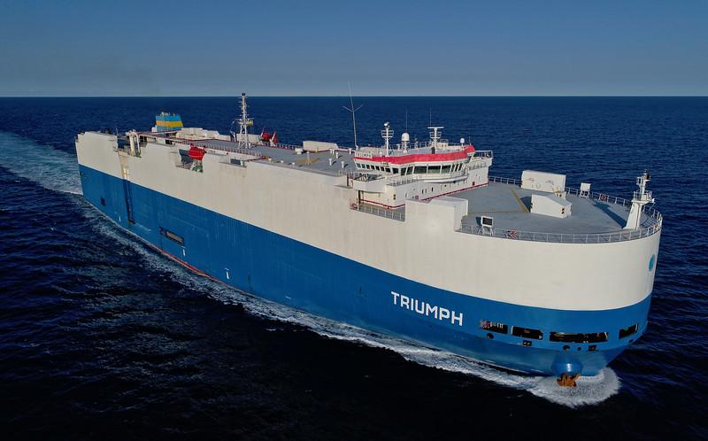 Triumph - 183 metres
