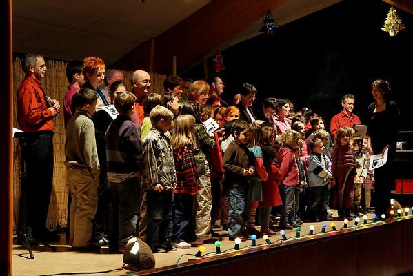 Chorale,Spectacle APACIB 2007