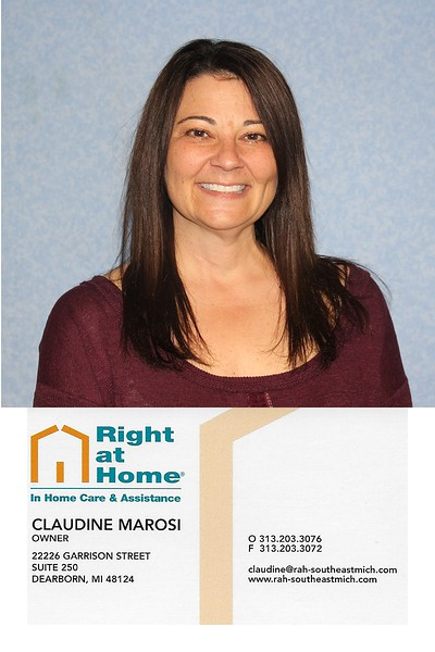 Right At Home - Claudine Marosi 1