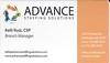Advance Staffing Solutions - Kelli Ruiz