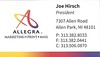 Allegra - Joe Hirsch - 1