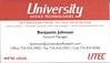 University Office Technologies - Benjamin Johnson