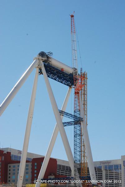 This Farris Wheel will top at 500 Feet !
