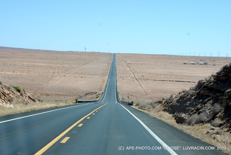 JUST UP THE ROAD IS FOUR CORNERS USA