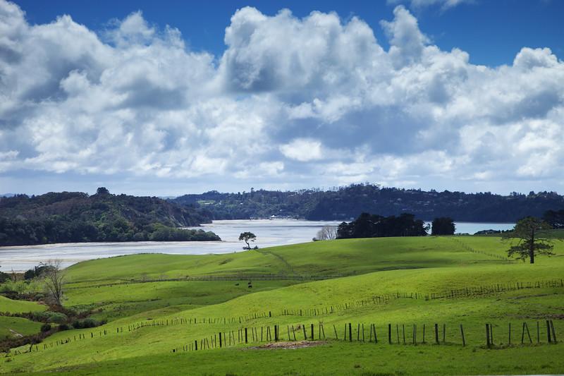 Okura estuary and Long Bay-Okura Marine Reserve near Auckland