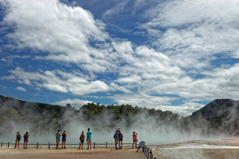 Champagne Pool in Wai-O-Tapu Thermal Wonderland