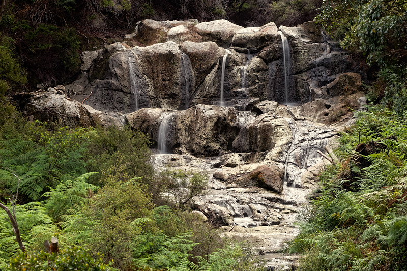 Kakaahi Falls, the hottest waterfall in the southern hemisphere at 40C where Maosri warriors would wash off the blood of battle