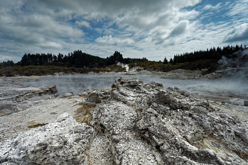 """Devils Cauldron at Hells Gate, """"the Beast of all Geothermal Parks"""", says the guide"""