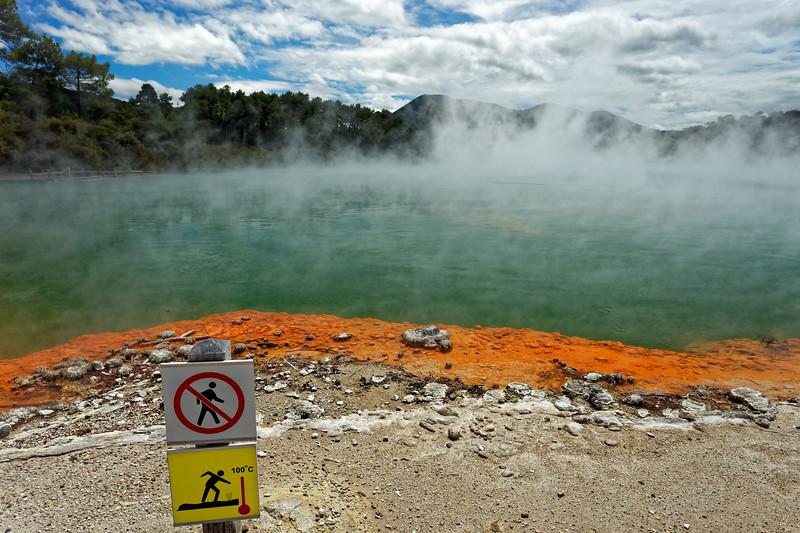 Champagne Pool in Wai-O-Tapu Thermal Wonderland