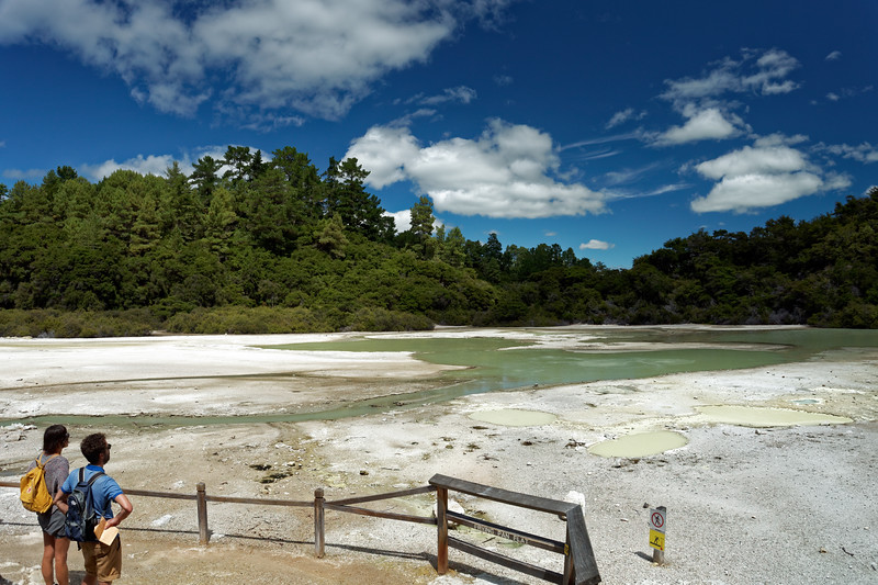 Bring Pan Flat at Wai-O-Tapu Thermal Wonderland