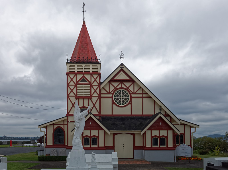 St Faiths church in Ohinemutu in Rotorua