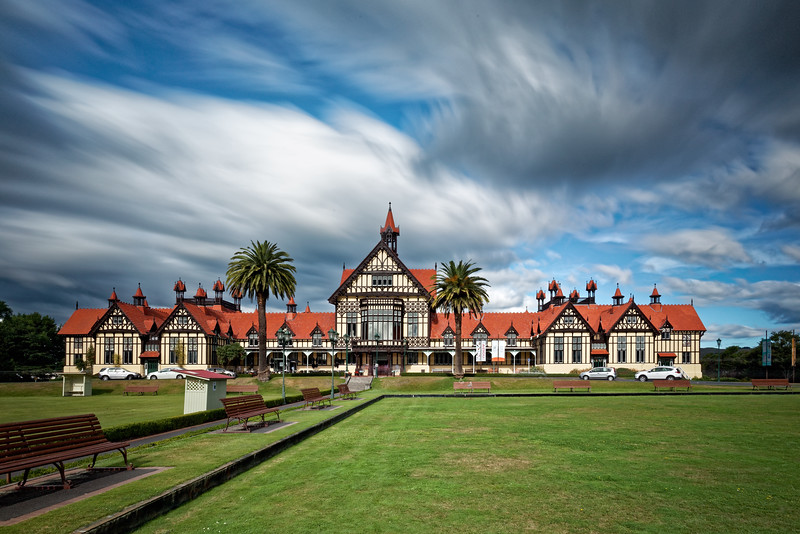 Rotorua Bathhouse and Museum, where the Victorians took the waters
