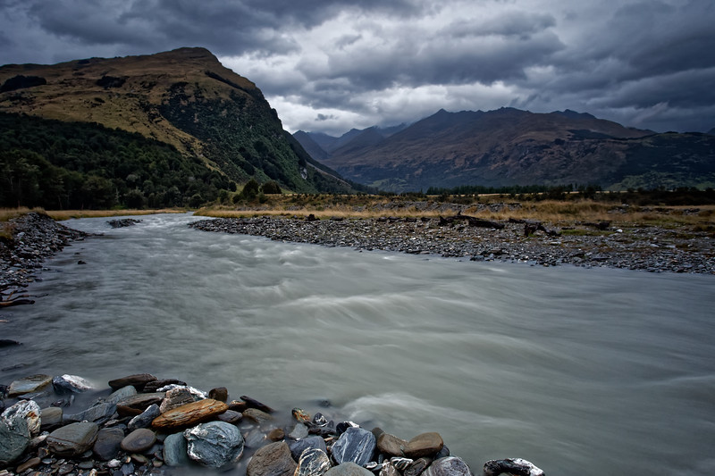 Countryside near Glenorchy in the South Island