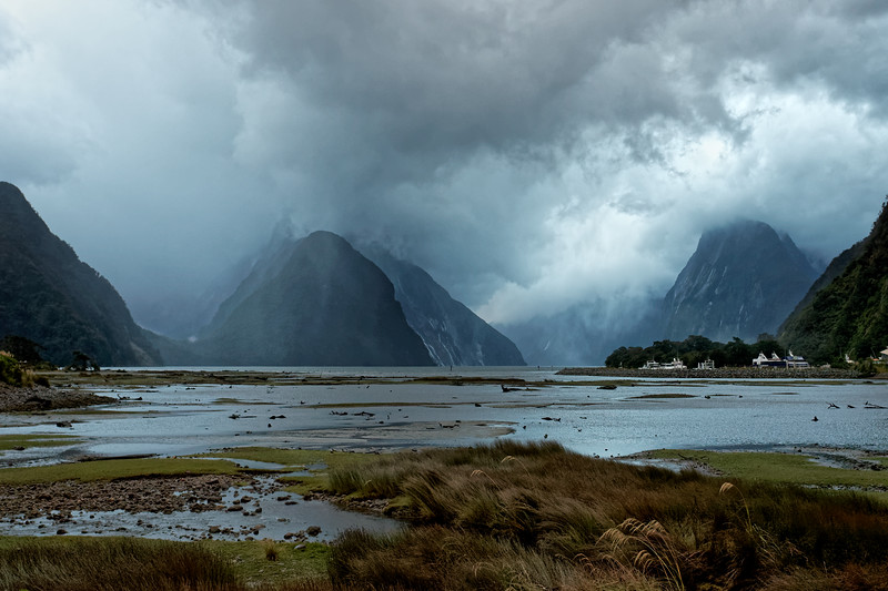 Milford Sound in Fiordland National Park, one of the wettest places on earth