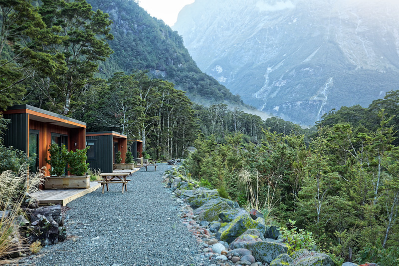Accommodation at Milford Sound Lodge in Fiordland National Park