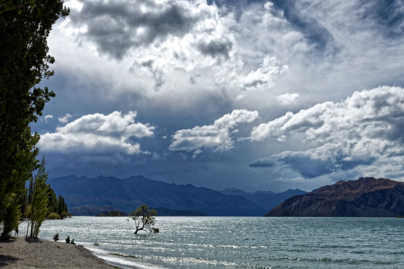 Lake Wanaka in the South Island