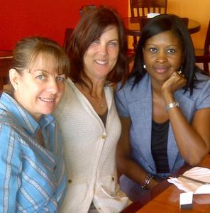 Ellen Loebelenz, Abby Fuller, Sherry Ross.