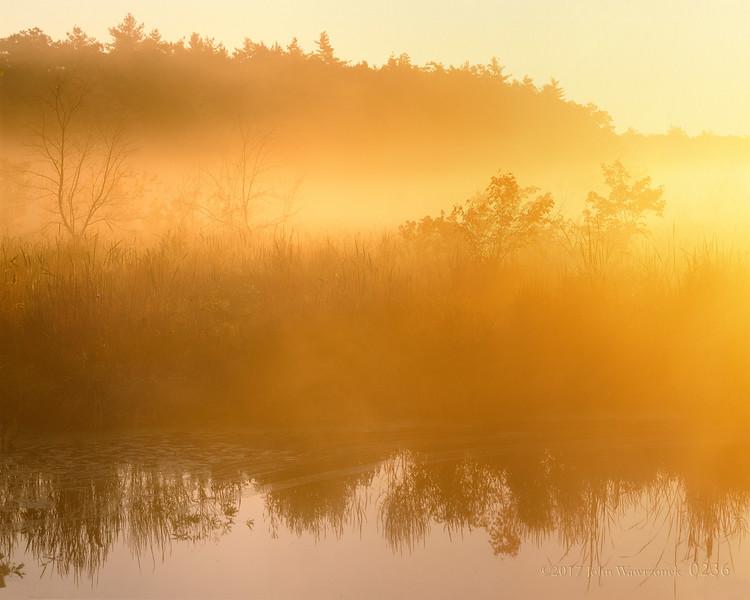 Morning Mists I, Beaver Brook