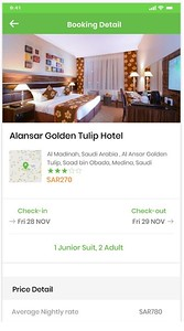 Booking Detail