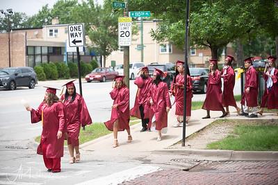 Clissold Elementary Graduation 201921