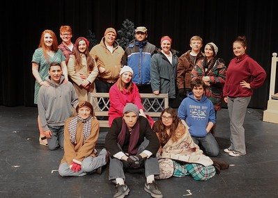 """""""ALMOST MAINE""""  Dress Rehearsal 040516"""