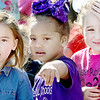 Kevin Harvison | Staff photo<br /> Students participate during the Paradae of the Young Child that took place Wednesday down Choctaw Avenue.