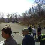 FOSTER TOWNSHIP VEHICLE ACCIDENT W/ ENTRAPMENT 4-5-2009  PICTURES AND VIDEO BY COALREGIONFIRE