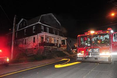 HAZLETON CITY STRUCTURE FIRE 4-12-2009
