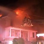 WEST HAZLETON STRUCTURE FIRE 4-24-2009