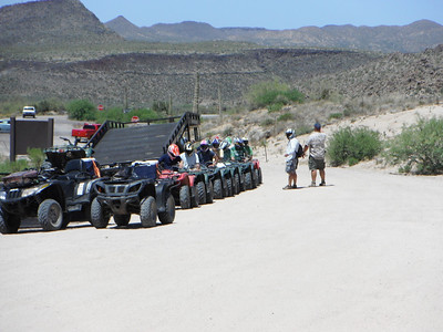 4-21-12 11:30 AM ATV BACHELOR PARTY