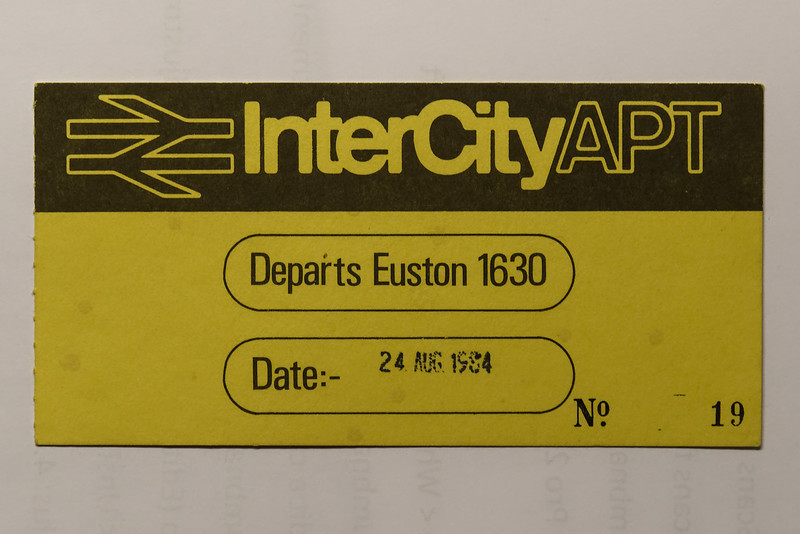 APT Boarding Pass, this was to ensure every passenger had a seat.