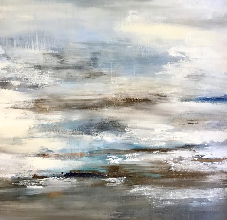 Stormy Seas II-Jardine, 50x50 on canvas
