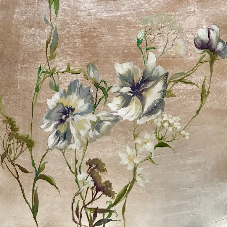 Spring Awakening II-Jardine, 24x24 on canvas