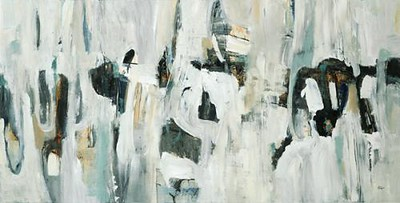 "Rock Moves-Ridgers, 30""X60"" on canvas"