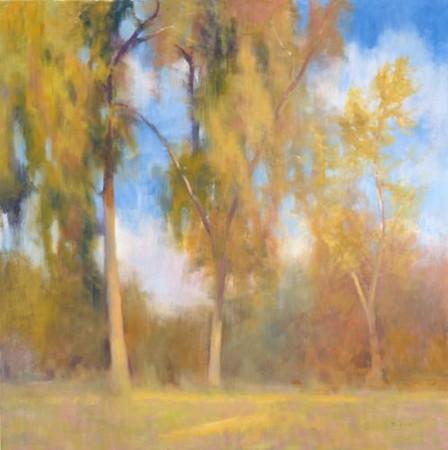 Timeless trees-Beck, 40x40