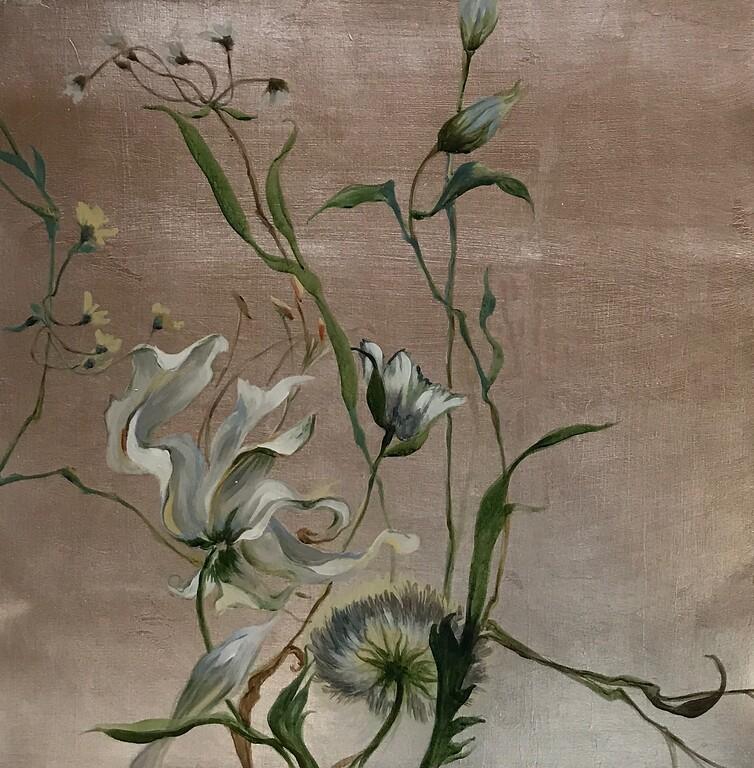 Pursuit of Beauty II-Jardine, 24x24 on canvas