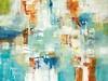 Layered Life II-Ridgers, 38x50 on canvas