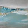 Aqua Quartz-Jardine, 43x43