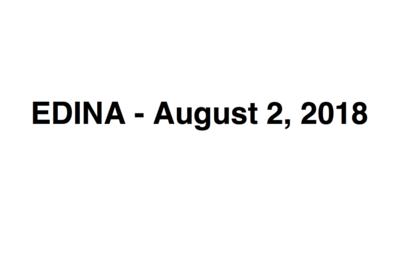 EDINA - August 2, 2018