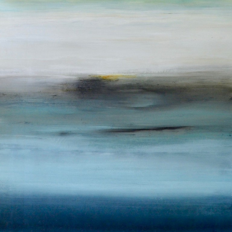Subtle Views V-Ridgers, 48x48 on canvas