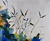"Rain III- Carney, 40""x50"" on canvas"