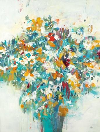 Floral Beauty-Ridgers, 50x38 on canvas