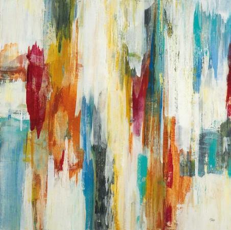 Field of Dreams II-Ridgers, 40x40 on canvas