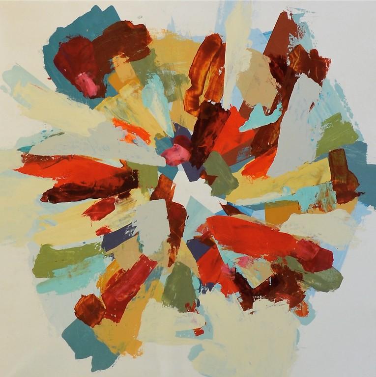 Wonderland-Hibberd, 40x40 canvas
