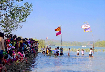 Kyaukpyu boat racing - 31