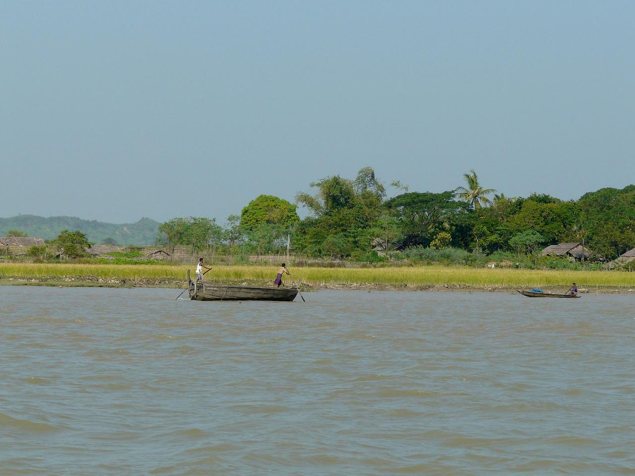 Sittwe-Mrauk-U boat 2011 - 024