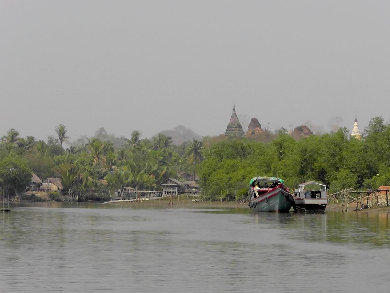 Burma-Arakan-Lemro River 240