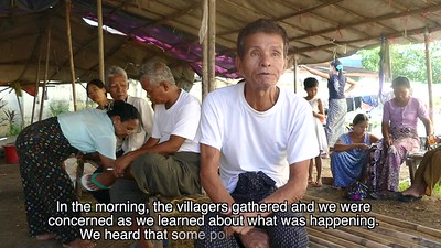 A MAN IN MAUNGDAW TOWNSHIP DESCRIBES HOW HIS VILLAGE, WITH NO SECURITY FORCES HAD TO FLEE FROM THE BENGALI MUSLIMS (so-called Rohingya)