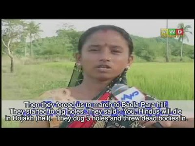 HINDU LADIES TALK ABOUT THE MASSACRES IN THEIR VILLAGES, AND THE LIES THEY WERE FORCED TO SAY - BY THE BENGALI MUSLIMS (so-called Rohingya)